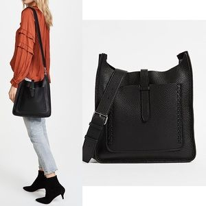 Rebecca Minkoff UnlinedFeed Bag with Whipstitching
